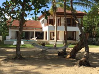 Casa Palmar - Amazing villa, directly on the beach - Las Terrenas vacation rentals