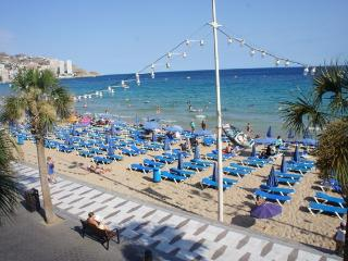 SEAFRONT LEVANTE BEACH 4BD - Benidorm vacation rentals