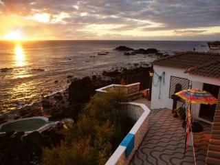 Stonehouse, oceanfront, shared natural pool - Mosteiros vacation rentals