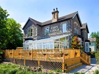 EDEN LODGE, elegant Edwardian property with hot tub, sauna, woodburner, WiFi - Bardsea vacation rentals
