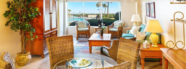 Living Space - Surf & Racquet Club C102 Oceanfront - Fernandina Beach - rentals