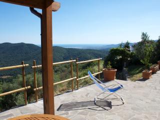 LE GUAZZE BONE - IL MANDORLO spectacular seaview - Vetulonia vacation rentals