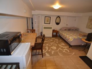Basement Studio Apartment in Trendy Area! - Toronto vacation rentals