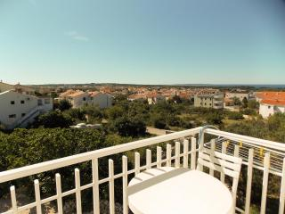 Beautiful apartment Adam 4.2 for 4 persons in Novalja overlooking the sea - Novalja vacation rentals