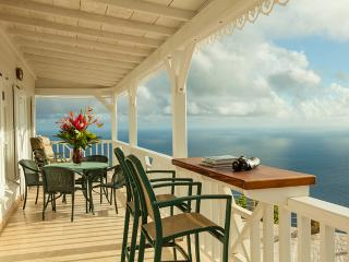 Spyglass - Saba villa with breath-taking view - Windwardside vacation rentals