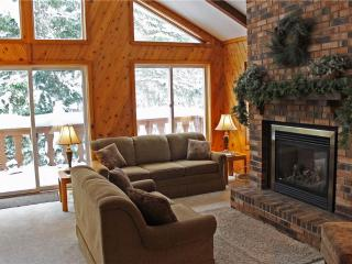 Located at Base of Powderhorn Mtn in the Western Upper Peninsula, A Large Trailside Home with Spacious Living Room with Large Windows - Ironwood vacation rentals