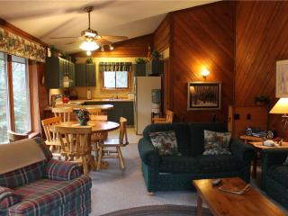 Located at Base of Powderhorn Mtn in the Western Upper Peninsula, Duplex Home Only Half Block from Main Ski Lodge with Beautiful Free-Standing Fireplace - Ironwood vacation rentals