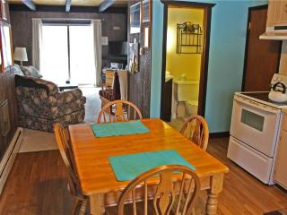 Located at Base of Powderhorn Mtn in the Western Upper Peninsula, A Quaint Duplex with Shared Outdoor Hot Tub Located 1 Block from Main Ski Lodge - Ironwood vacation rentals