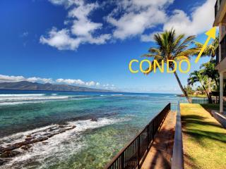 Secluded 100% Oceanfront 2BD Gem|Hear waves 24/7! - Lahaina vacation rentals