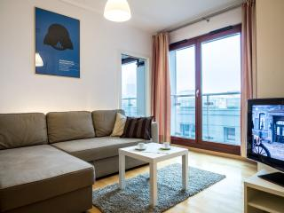 1 bedroom Apartment with Internet Access in Warsaw - Warsaw vacation rentals
