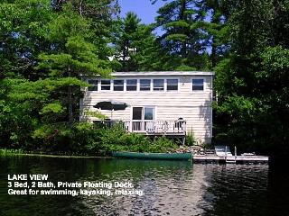 Lake House on Knickerbocker Lake Boothbay ME. - Boothbay vacation rentals