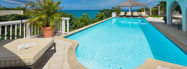 SPECIAL OFFER: St. Martin Villa 56 Panoramic Views Of The Caribbean Baie Rouge Beach From The Gazebo, Pool Deck And Glassed-in Living Areas. - Image 1 - Terres Basses - rentals
