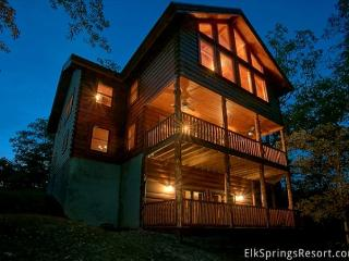 Luxury 6 Bedroom Cabin with Theater Room, Game Room & Amazing Views-Sleeps 16 - Sevierville vacation rentals