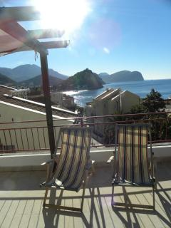 Apartment with sea and mountain views - Image 1 - Petrovac - rentals