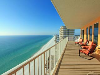 PCB-Treasure Island 1912 - 10% off stays 3/1 - 4/11/15! 3 BR/2BA GulfFront Corner Unit with Wraparound Balcony! Panama City Beac - Destin vacation rentals