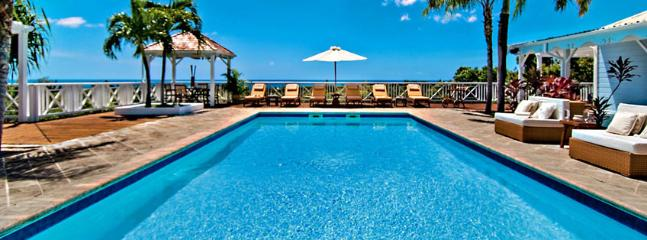 SPECIAL OFFER: St. Martin Villa 63 This Hillside Villa Has A Créole Flavor And A Wonderful View Of Baie Longue. - Image 1 - Terres Basses - rentals