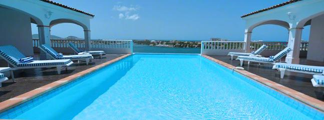 St. Martin Villa 284 Exceptional Views Of Simpson Bay, The Sparkling Caribbean Sea And The Islands Of Saba, St Eustatius And St. - Saint Martin-Sint Maarten vacation rentals