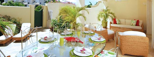 Barbados Villa 229 The Large Outdoor Terrace Comprises A Dining And Seating Area Ideal For Entertaining. - Mullins vacation rentals