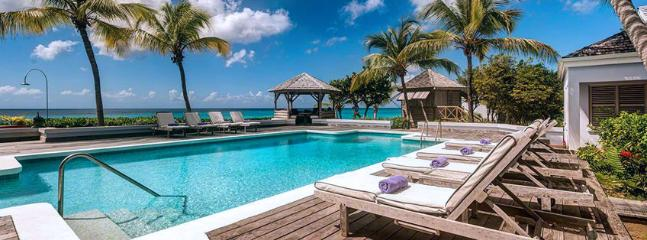 SPECIAL OFFER: St. Martin Villa 125 An Idyllic Beachfront Property Located On One Of St. Martin's Finest Beaches, Beautiful Baie - Baie Longue vacation rentals