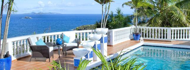 St. Martin Villa 190 Breathtaking Views Of The Caribbean Sea. - Image 1 - Dawn Beach - rentals