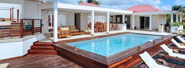 SPECIAL OFFER: St. Martin Villa 40 A New, Spacious And Elegant Three-bedroom Villa Overlooking The Caribbean Sea. - Image 1 - Terres Basses - rentals