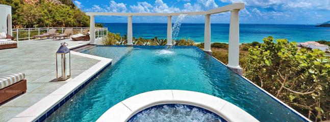 St. Martin Villa 45 Spectacular Views Combined With The Soft Sea Breezes Transform This Villa Into The Perfect Romantic Hideaway. - Image 1 - Terres Basses - rentals