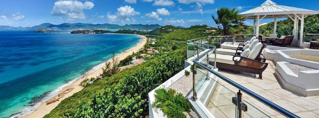 SPECIAL OFFER: St. Martin Villa 29 The Villa Offers A Lot Of Privacy And Beautiful Views Over The Ocean. Can Be Rented As A 3 Or A 5 Bedroom Villa. - Image 1 - Terres Basses - rentals