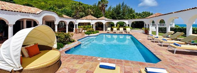 St. Martin Villa 54 Commands A Beautiful View Of Baie Rouge Beach And The Island Of Anguilla. - Image 1 - Terres Basses - rentals