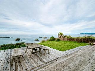 Dog-friendly home w/ocean views right outside your windows & a private hot tub! - Westport vacation rentals