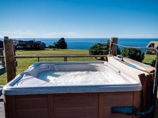 Enjoy private hot tub & spectacular ocean views in this dog-friendly home! - Albion vacation rentals