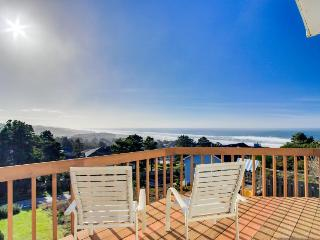 Dog-friendly w/ gorgeous ocean views, private hot tub, on-site golf, great deck! - Lincoln City vacation rentals