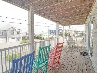 Oceanview -  Unwind and relax at this comfortable Kure Beach ocean view condo - Kure Beach vacation rentals