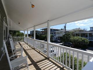Spears- Ocean view duplex with spacious porches, a short walk to the ocean - Wrightsville Beach vacation rentals