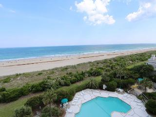 Station One-6G Pleasant-Oceanfront condo with community pool, tennis, beach - Wrightsville Beach vacation rentals
