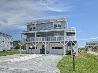 Kaitlyn's Korner -  Ocean view home close to the beach large wrap around decks - Kure Beach vacation rentals