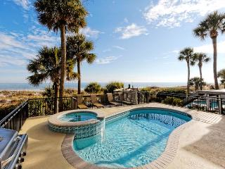 Roadrunner 5, Oceanfront, 7 Bedrooms, Private Pool, Spa, Elevator, Sleeps 20 - Hilton Head vacation rentals