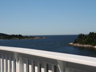 Spectacular views of the open ocean and harbor. - Phippsburg vacation rentals
