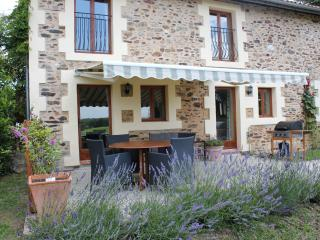 Cozy Le Lindois vacation Gite with Deck - Le Lindois vacation rentals