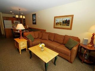 Red Hawk Lodge 2286 - Rare one bedroom, two bath, sleeps 6, amazing views, walk to slopes! - Keystone vacation rentals