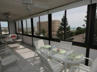 Lanai - Gulfside Mid-Rise Unit 501D - Siesta Key - rentals