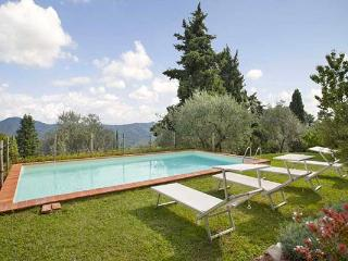 Charming farmhouse high in the hills dividing Lucca from the Versilian coast. SAL FIO - Lucca vacation rentals