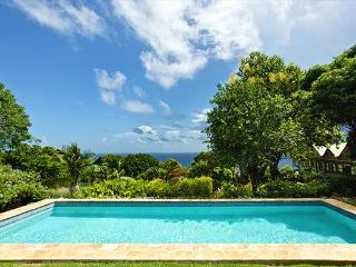 Nestled in the Butlers Mountain foothills, this Nevisian- style villa commands sweeping sea views. KL BUT - Saint Kitts and Nevis vacation rentals