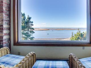 Oceanfront, dog-friendly home with amazing bay views awaits - Netarts vacation rentals