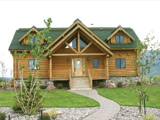 "Wolf River Ranch is luxurious 10"" log cabin on the World Famous Henry's Lake. - Island Park vacation rentals"