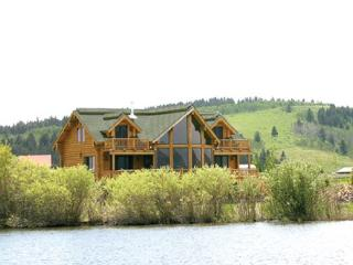 Wolf River Ranch is waterfront on the world famous Henry's Lake. - Island Park vacation rentals