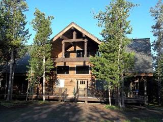 Jakes Place is close to the ATV/snowmobile trails with hot tub on back deck. - Island Park vacation rentals