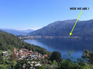 large and bright flat on lake Orta - Miasino vacation rentals