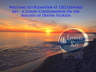 OceanView Condominium 1202 at Leeward Key - Miramar Beach vacation rentals