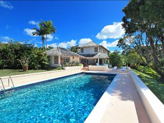 Nestled in two acres of beautiful gardens with many mature trees and a view of the Caribbean sea, this is the perfect vacation - Sandy Lane vacation rentals