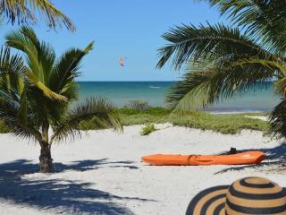 2 Bedroom Beachfront Chalet - El Cuyo vacation rentals